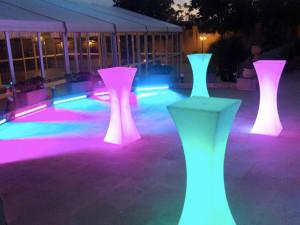 LED Bistro Tables